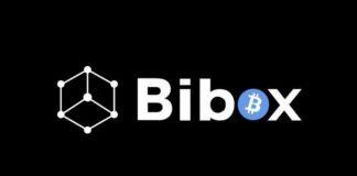 image featuring bibox's logo in black background